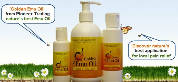 Golden Emu Oil